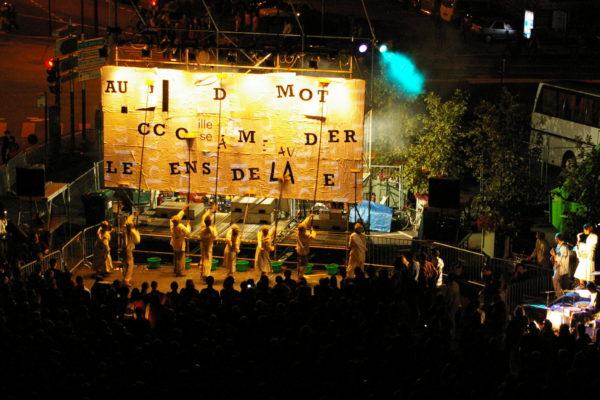 Théâtre d'1 rue, Angers 2007 © E. Morizur