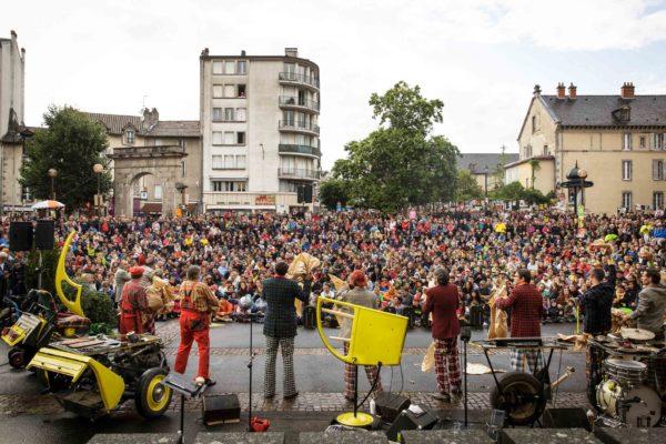 La Deuche Joyeuse, Festival d'Aurillac - 2016 © Christophe Raynaud de Lage
