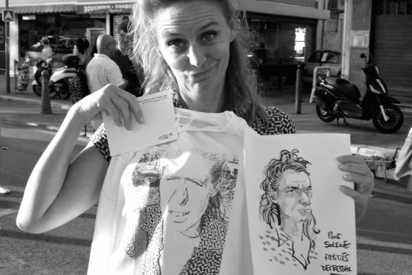 Festival de la caricature et du dessin de presse de l'Estaque - Marseille, 2016 © Patricia Gomé