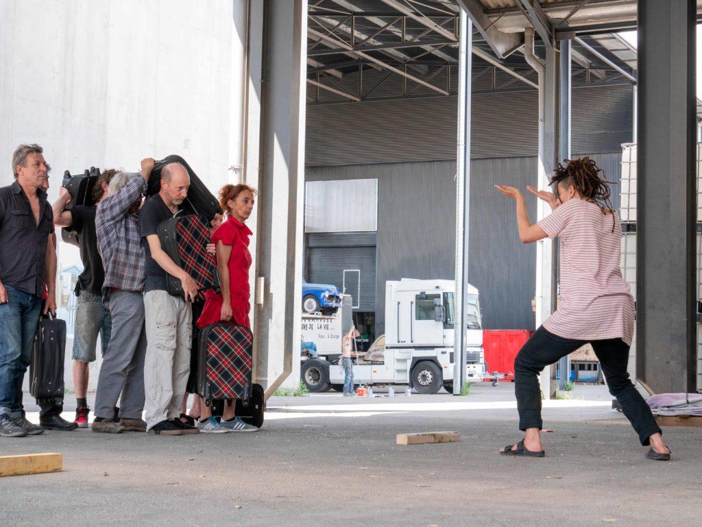 Reprise de rôles sur La Deuche Joyeuse avec Pina Wood - Mai 2018 © Caroline Genis