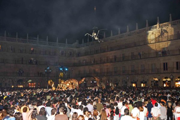 La conférence des chevaux, Festival de las artes, Salamanca © Gerardo Sanz Martín