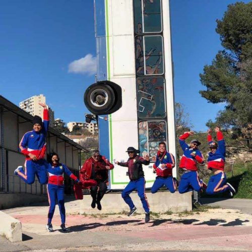 Fundacion Tchyminigagua - Marseille, 2019 © Fundacion Tchyminigagua